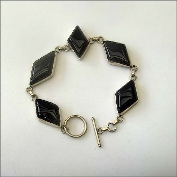 Indian Bracelet with Onyx